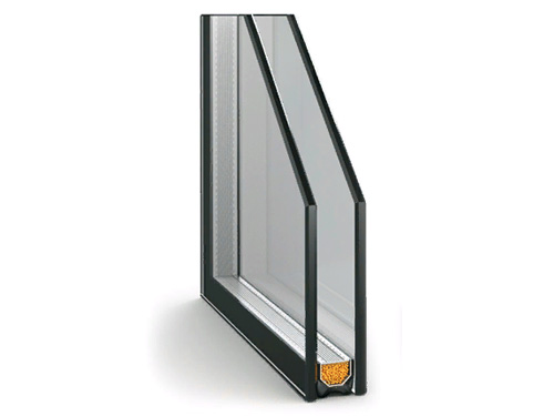 Однокамерный стеклопакет для пластикового окна