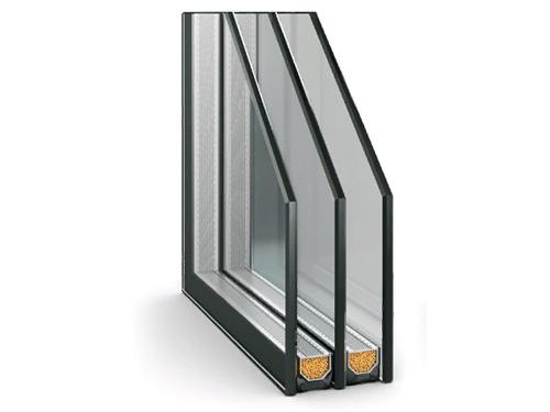 Двухкамерный стеклопакет для пластикового окна