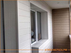 Результат утепления балкона панелями